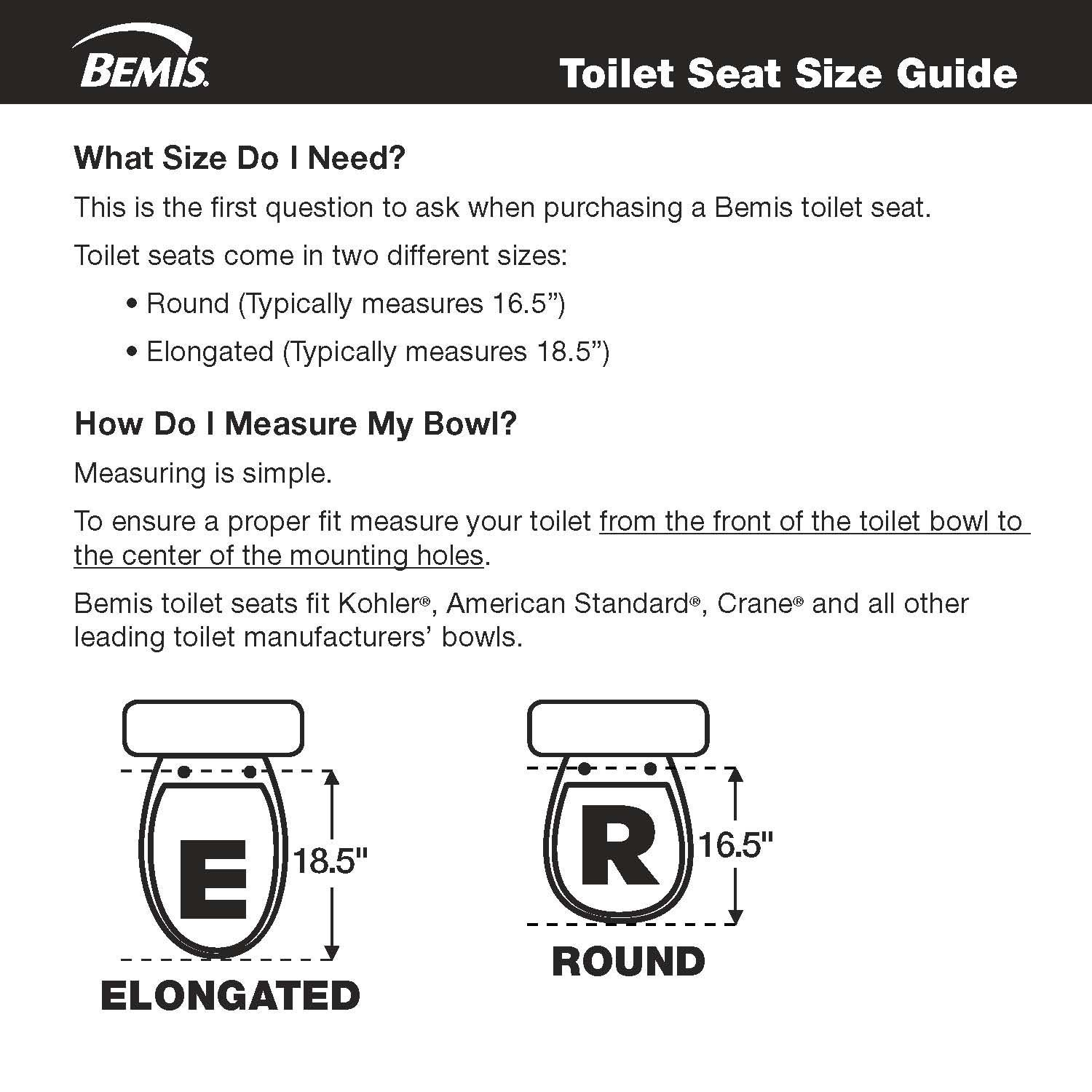 Awesome Toilet Seat Fastening Hardware Upgrade Kit Statite Upgrade An Easy Clean Change Seat To Sta Tite With The Sta Tite Hardware Upgrade Kit By Mayfair Squirreltailoven Fun Painted Chair Ideas Images Squirreltailovenorg