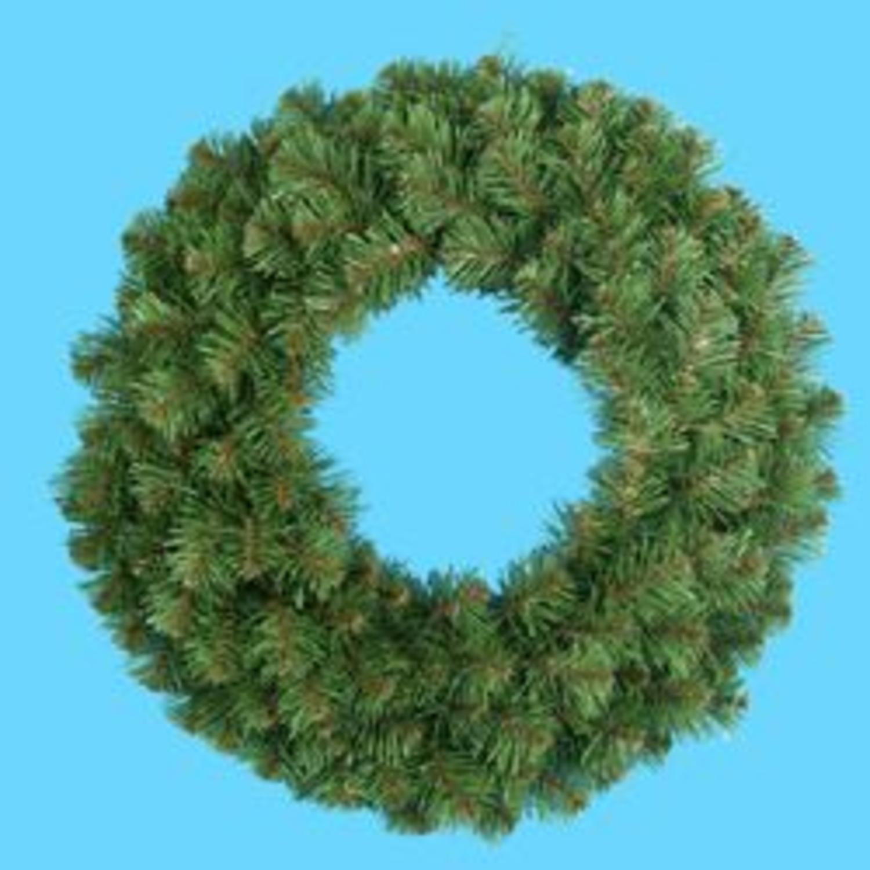 "24"" Virginia Pine Artificial Christmas Wreath - Unlit"