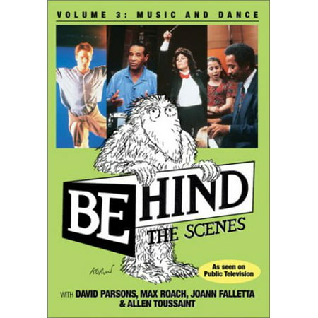 Behind the Scenes: Music and Dance (DVD)