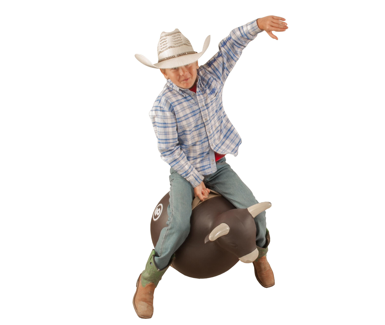 Kids Bull Rider Toy Play Set Rodeo Animal Bucking Chute Boy Gift Pretend New
