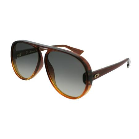 Dior CD DiorLia 12J Unisex Aviator (White Christian Dior Sunglasses)