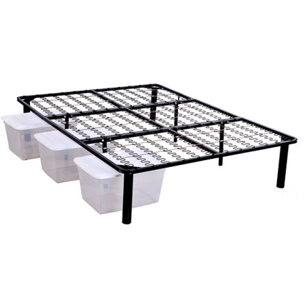 Steel platform bed frame for Cheap metal twin bed frame