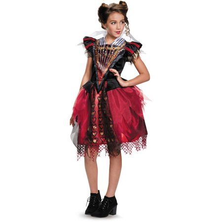 Red Queen Tween Halloween Costume - Elsa Halloween Costume Size 10-12