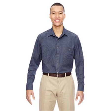 Ash City - North End Men's Excursion Utility Two-Tone Performance Shirt North Face Mens Stone