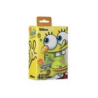 Sponge Bob Golf Balls 6 Pack, Rubber By Wilson