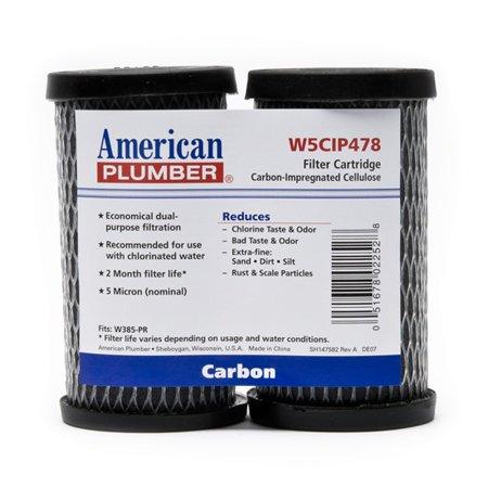 Water Filter Taste And Odor Cartridges 4.82' W5CIP478 Taste/Odor/Sedi