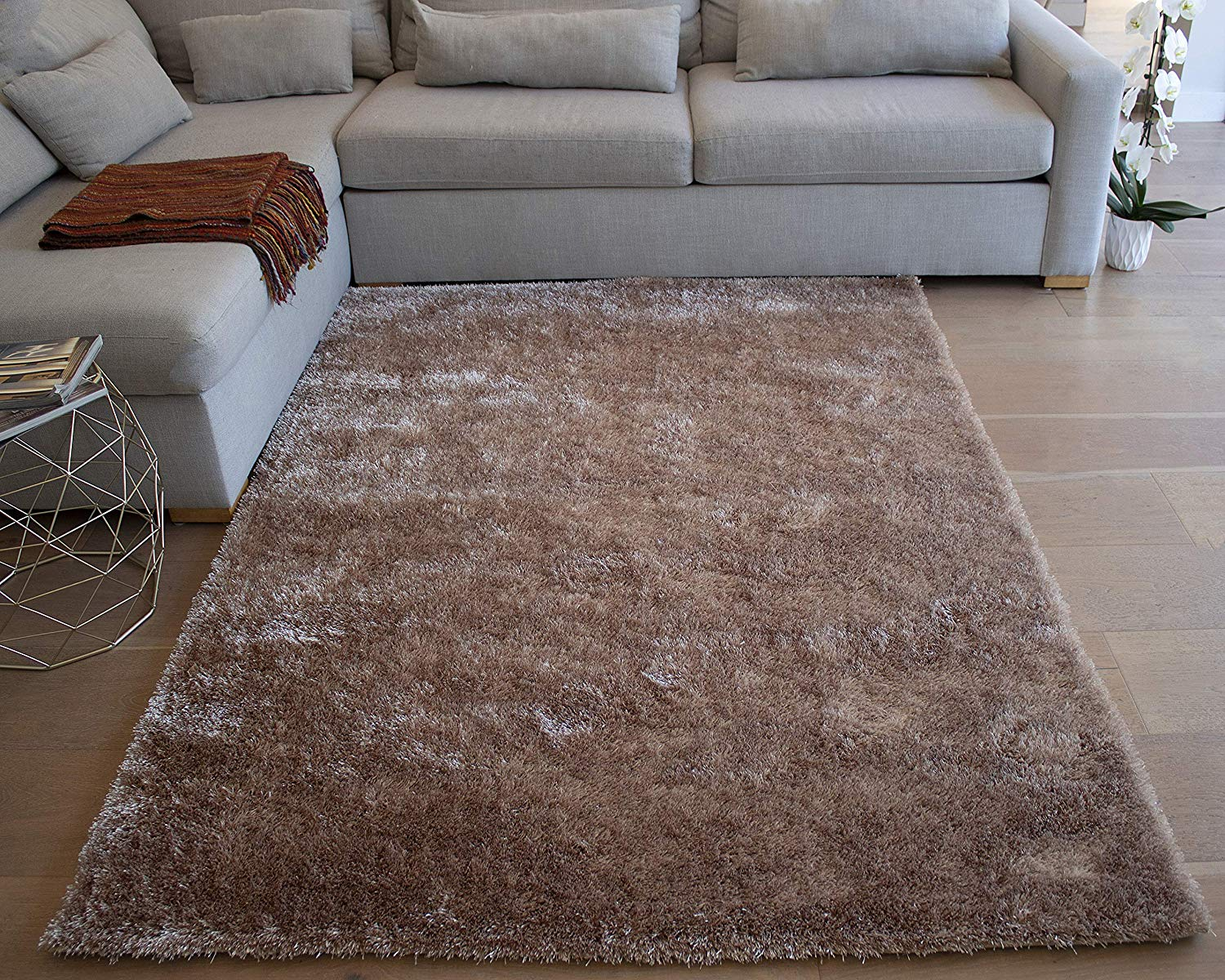 SOFT COMFY FLOOR HOME DECOR LARGE CREAM BEIGE BROWN RED SOFT VISIONA SOFT RUGS
