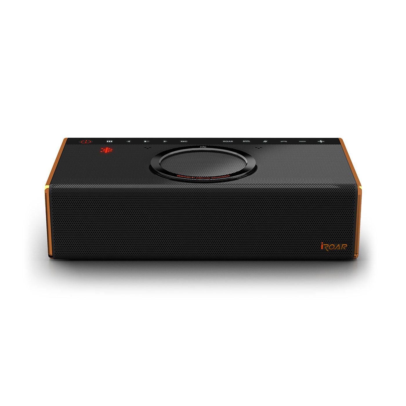 Creative Labs iRoar Intelligent Bluetooth Wireless Speaker (Black) by Creative Labs