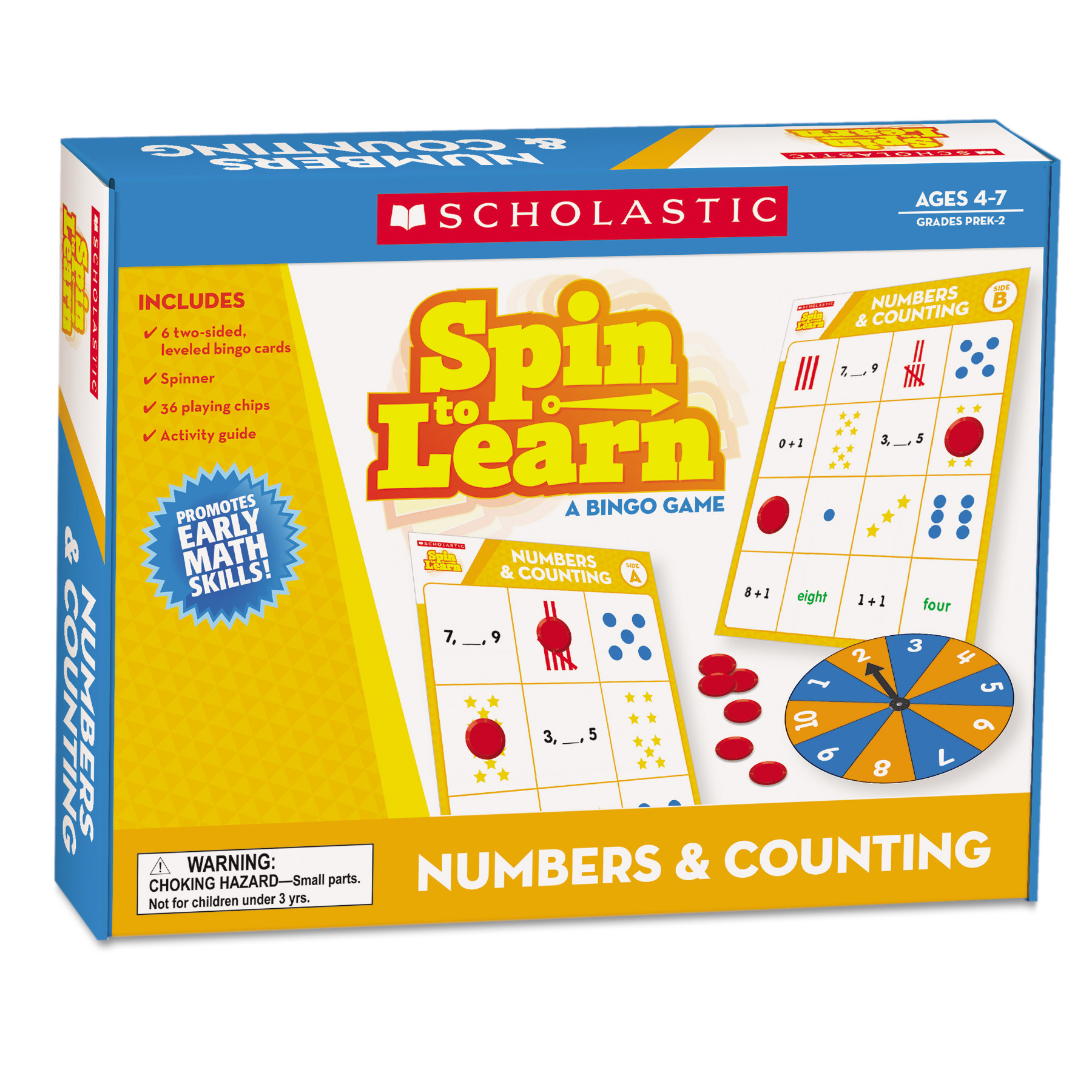 Scholastic Spin to Learn, Vowels, Ages 4 to 7