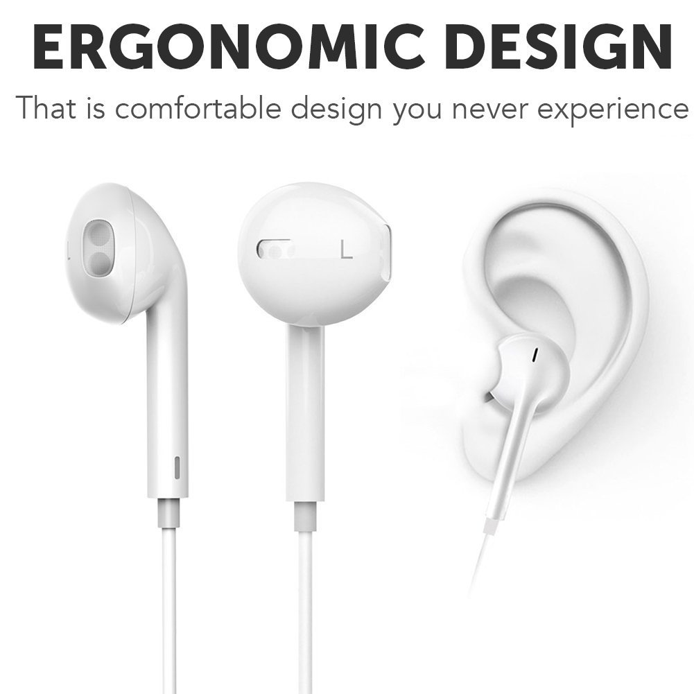 Samsung,Google Pixel,LG CVC 6.0 Noise Cancellation Huawei Ascend G330D U8825D Bluetooth Headset In-Ear Running Earbuds IPX4 Waterproof with Mic Stereo Earphones Apple works with