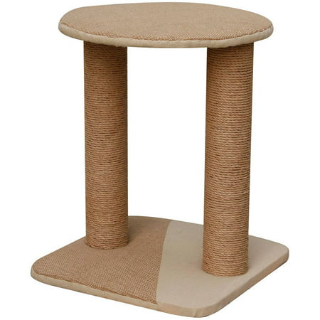 Petpals Group Throne Double Paper Rope Post with Jute Perch and Base