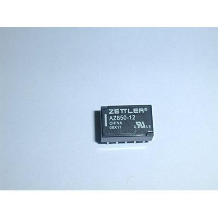 AZ850-12 RELAY DPDT 12VDC 250VAC PCB ( 1 EACH) - (One Relay)