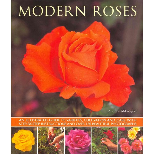 Modern Roses: An Illustrated Guide to Varieties, Cultivation and Care, With Step-by-Step Instructions and over 150 Beautiful Photographs