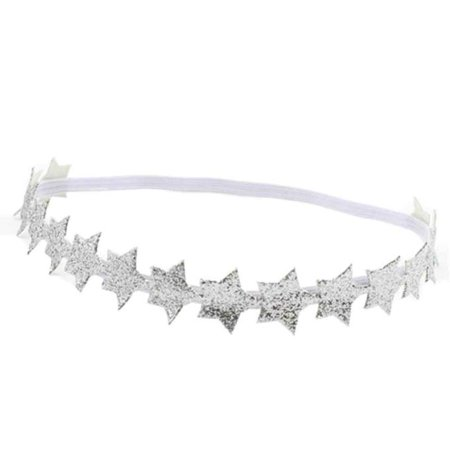 Outtop Baby Girl Bridal Princess Headband Hair Band Star Elastic Hair Accessories - Star Headband