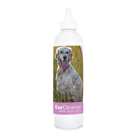 English Pea - Healthy Breeds 840235106630 8 oz English Setter Ear Cleanse with Aloe Vera Sweet Pea & Vanilla