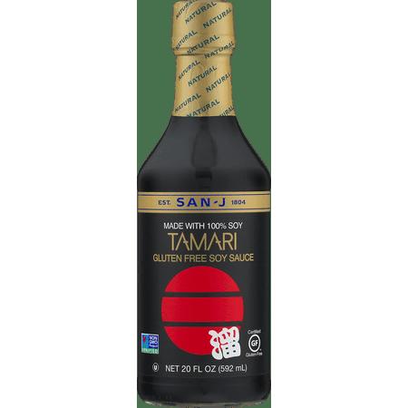 San-J Tamari Gluten Free Soy Sauce, 20 Fl Oz