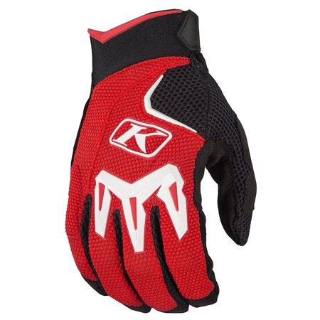 Mojave Glove SM Red, IMPROVED FIT AND UPDATED DESIGN By KLIM from (Klim Motorcycle)