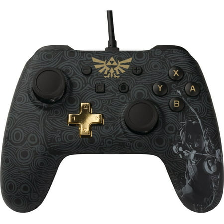 PowerA Wired Controller for Nintendo Switch, The Legend of Zelda: Breath of the Wild, 1503256-01 ()