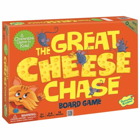 The Great Cheese Chase Board Game ()