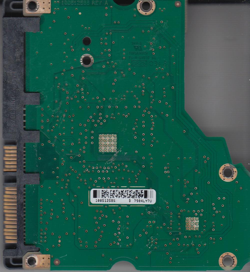 ST31000333AS, 9FZ136-336, SD15, 100512585 D, Seagate SATA 3.5 PCB
