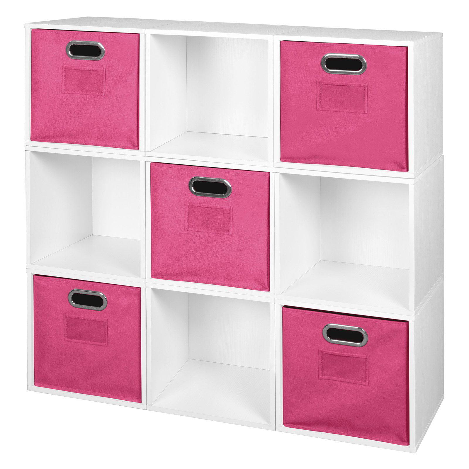 Niche Cubo Storage Set - 9 Cubes and 5 Canvas Bins