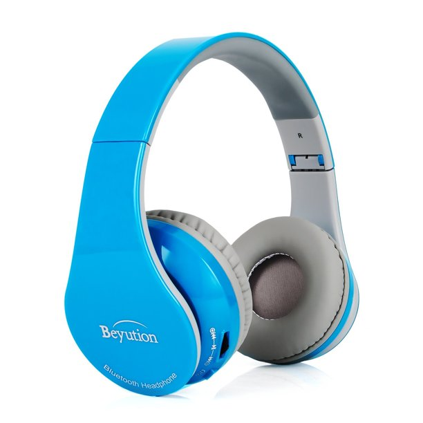 Beyution Bt513 Bluetooth Headphones With Built In Mic For Cell Phone Laptop Pc Tablets Walmart Com Walmart Com