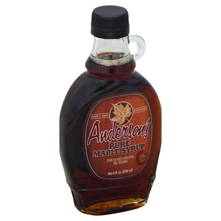 Anderson's Pure Maple Syrup - 8oz - All Natural NO additives or preservatives ()