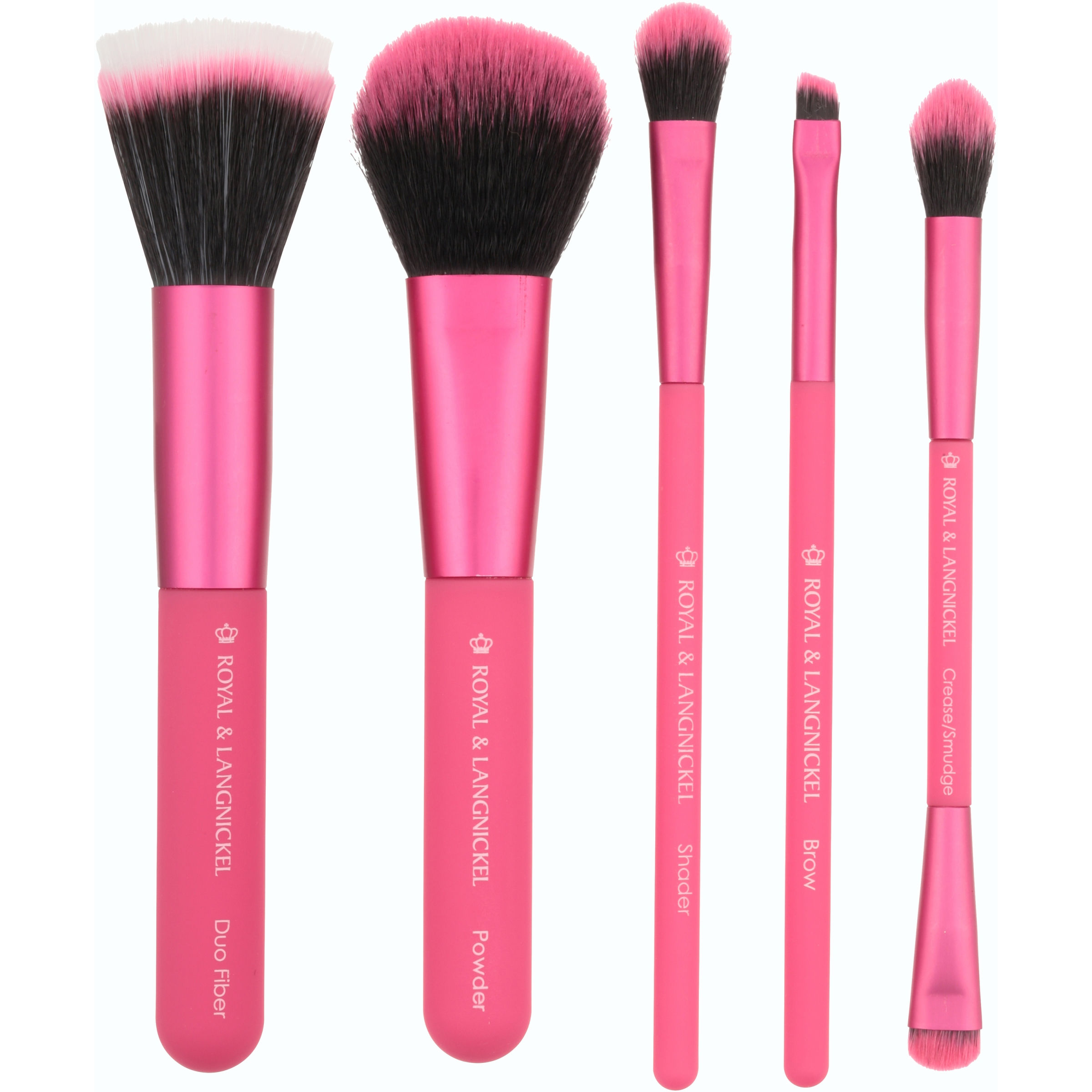 Moda™ Perfect Mineral Professional Makeup Brush Set 6 pc Carded Pack