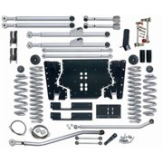Rubicon Express RE7223 Extreme Duty Suspension Lift Kit; 3.5 in. Lift; Long Arm; Incl. XMmbr/Fr/Rr/Up/Lwr Cntrl Arms/Ptmn Arm/Fr/Rr Brk Lines/Fr/Rr Cl Spgs;