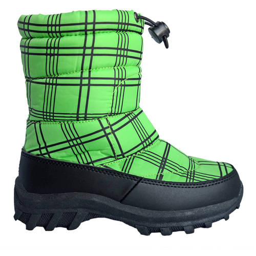 Cold Front Toddler Boys' Fun Pac Drawstring Winter Boot
