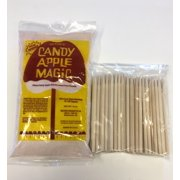 Victor's Candy Apple Magic with 75 Wood Apple Sticks