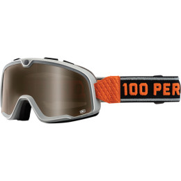 100% Barstow Goggles Red w/Bronze Lens   50002-087-02