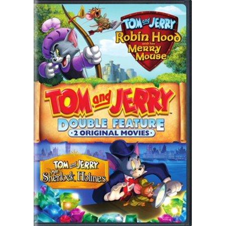 Tom & Jerry: Robin Hood & His Merry Mouse / Meet Sherlock Holmes (DVD) (Sherlock Holmes Tv Series)