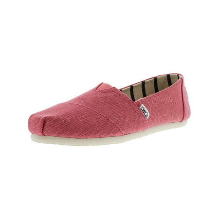 Girls Toms On Sale (Toms Women's Classic Heritage Canvas Cactus Flower Ankle-High Slip-On Shoes -)