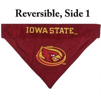 Pets First Collegiate Iowa State Cyclones Reversible Bandana - Home & Away Mesh & Premium Embroidery for DOGS & CATS