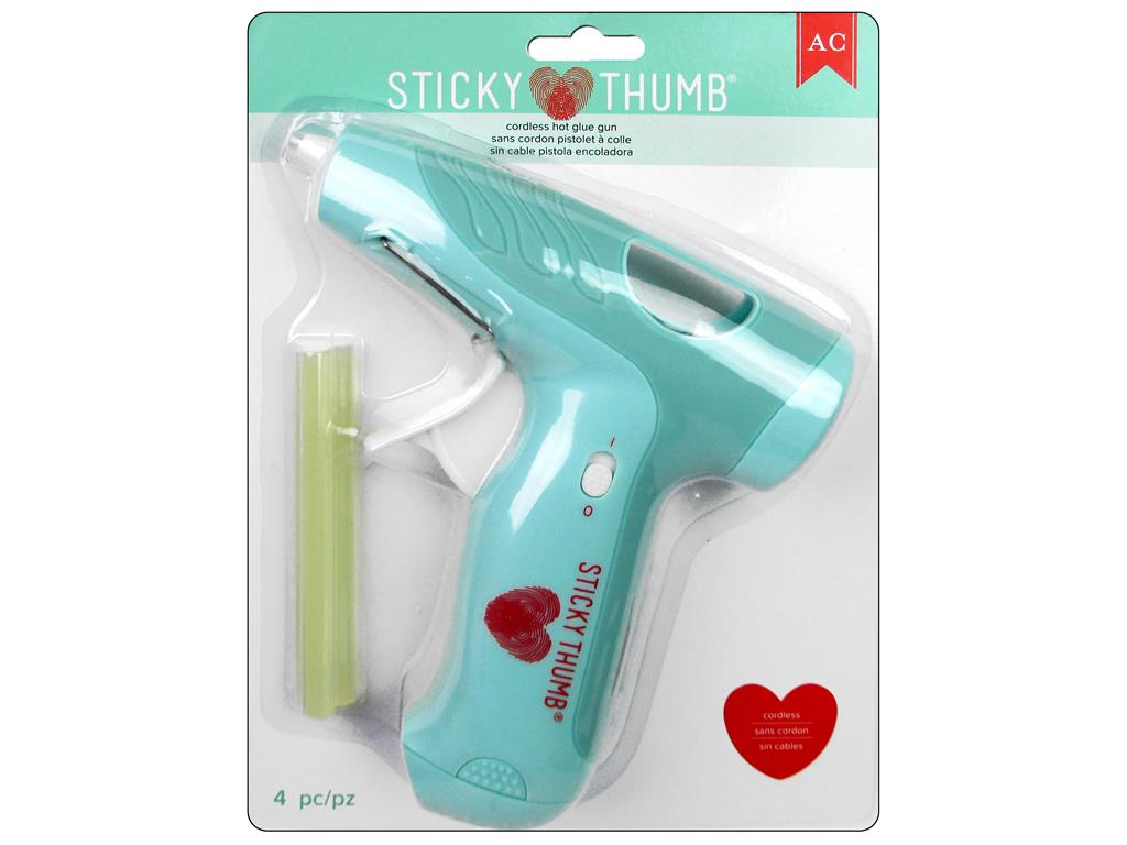 AMC Sticky Thumb Glue Gun Cordless by American Crafts