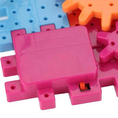 Qiilu 81Pcs/Set Educational Electric Puzzle Kids Children Plastic DIY Building Blocks Funny Toys, Kids Puzzle Toy, Educational Puzzle Toy - image 13 of 13