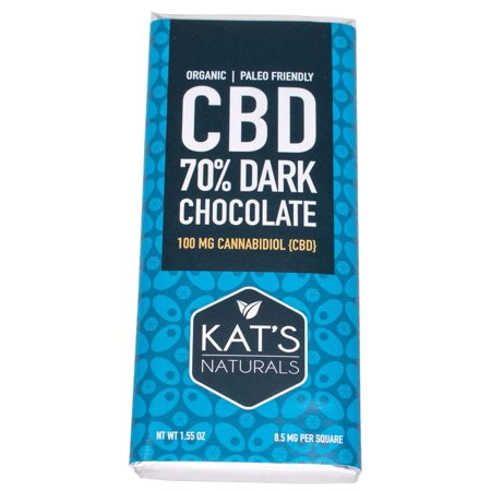 Dark Chocolate - 36mg Organic Chocolate