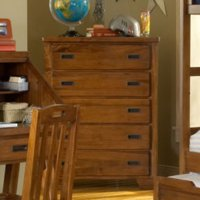 American Woodcrafters Heartland 5 Drawer Chest