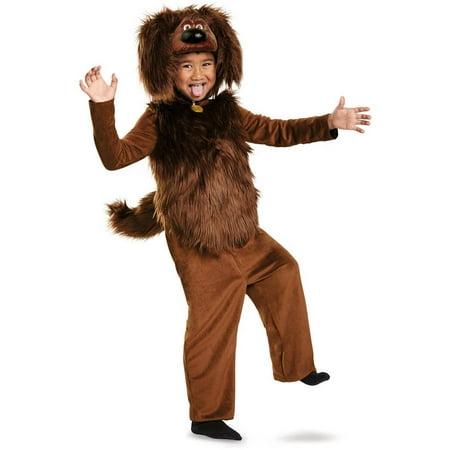 The Secret Life of Pets Duke Deluxe Toddler Halloween Costume, 3T-4T - Raoul Duke Costume