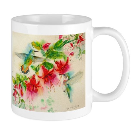 CafePress - Hummingbirds In Fuschia Garden 2 Mugs - Unique Coffee Mug, Coffee Cup CafePress - Angry Birds Halloween Coffee Mugs
