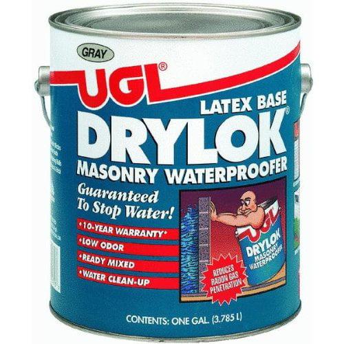 Drylok 27613 Latex Base Masonry Waterproofer, Gray, 1-Gallon