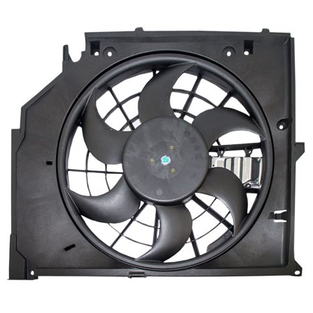 Radiator Cooling Fan Motor Assembly Replacement for BMW 3 Series 17 11 7 525 508