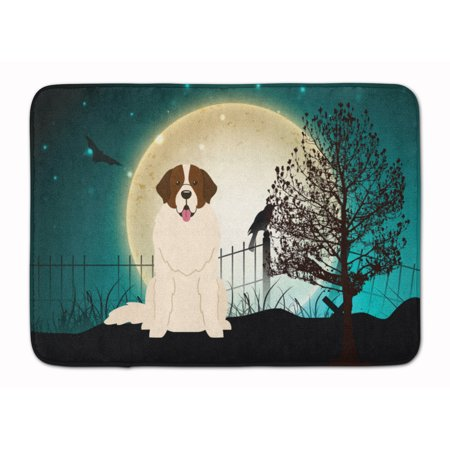 Halloween Scary Moscow Watchdog Machine Washable Memory Foam Mat