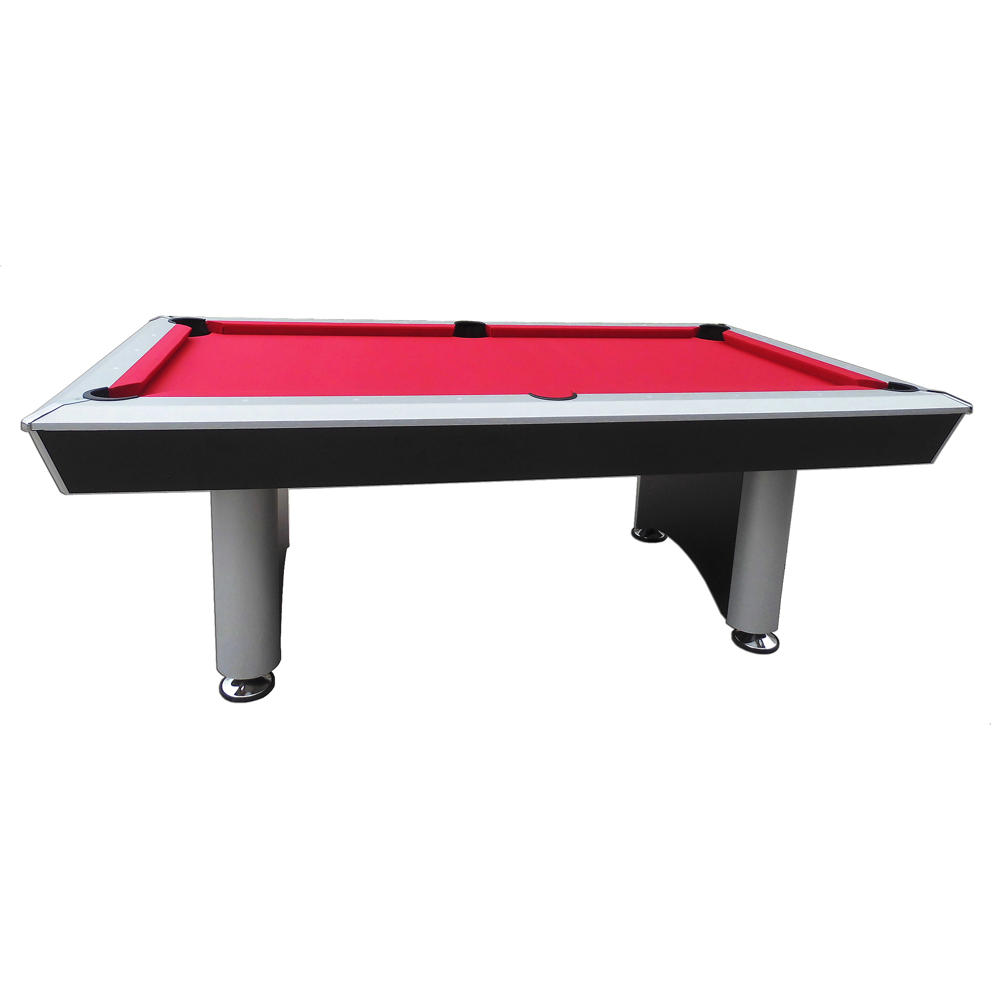 Playcraft 7 Sprint Pool Table with Red Cloth Walmartcom