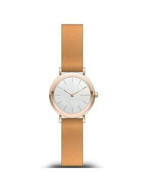 Skagen  Women's  'Hald' Brown Leather Watch