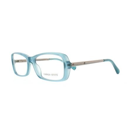 GIORGIO ARMANI Eyeglasses AR7011 5034 Green Water Opal 53MM
