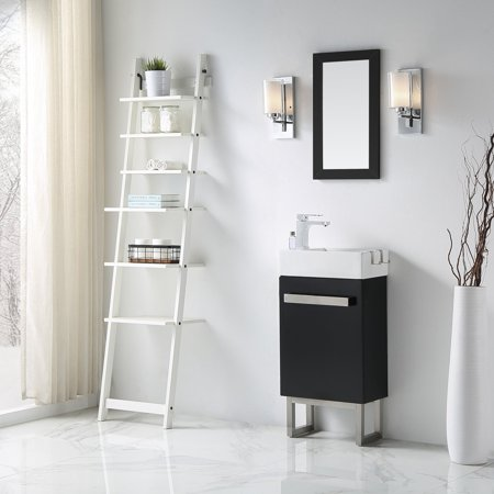 Ove decors mica 18 in space saver single bathroom vanity - Space saving bathroom vanity ...