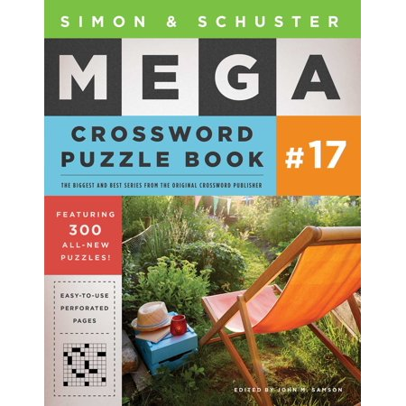 Simon & Schuster Mega Crossword Puzzle Book #17 - Halloween Crossword Puzzles Answer