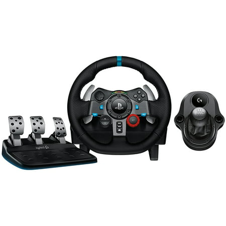 Logitech G29 Driving Force Race Wheel PS4 + Logi G Driving Force Shifter Bundle (Non-Retail Packaging) Logitech Driving Force Gt Wheel
